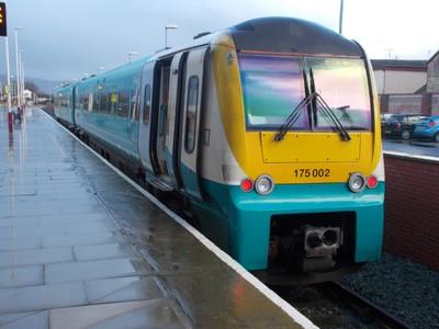 Train to Holyhead.