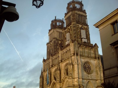 ORLEANS,  FRANCE  -- Cathedral.     Started to build in 1601,  finished 1829.