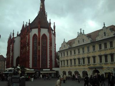 WURZBURG  GERMANY     St Marys  Church.