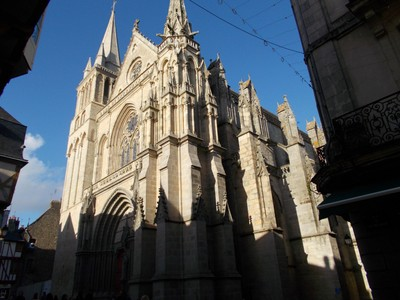 VANNES,  FRANCE.   Cathedral.