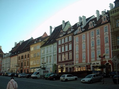 CHEB,  CZECH.    Steep roofs,