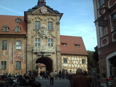 BAMBERG  GERMANY.        Town Hall Gate.