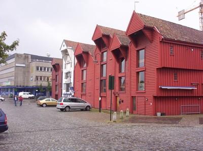 STAVANGER  NORWAY.     Historic Warehouses.