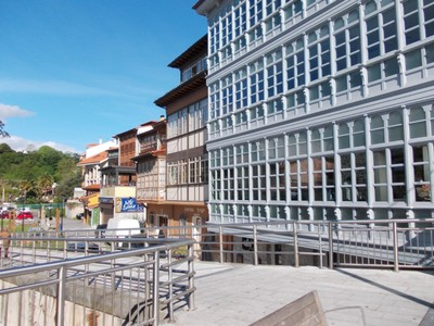 LLANES,  SPAIN.  --  Town  centre.
