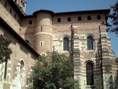 TOULOUSE  FRANCE.  St.  Sernin  basilica.