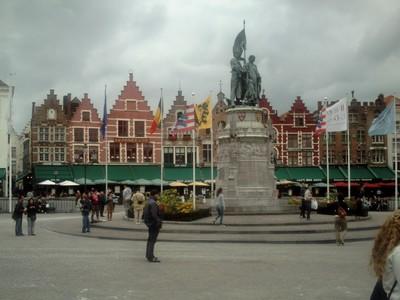 BRUGES  BELGUIM...      Main Square.