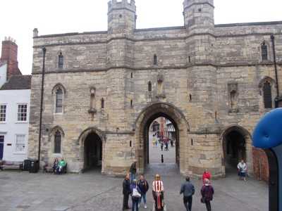 LINCOLN CATHEDRAL GATE