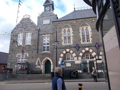 CARDIGAN  WALES,  Town Hall.