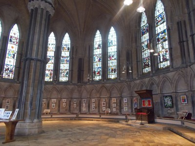 LINCOLN CATHEDRAL  CHAPTER HOUSE.
