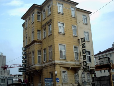 ISTANBUL  TURKEY..  I stayed at this Hotel Aydin in 2009  £25.