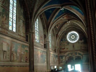 ASSISI  ITALY    St  Francis  Basilica. -- Upper  Basilica.
