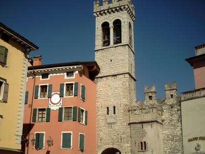 RIVA DEL GARDA  ITALY --Porta San Michele.