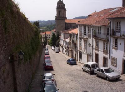 SPAIN  SANTIAGO  DE COMPOSTELA.   Medieval Wall.