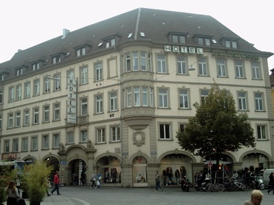WURZBURG   GERMANY .    I stayed two nights at this  hotel.