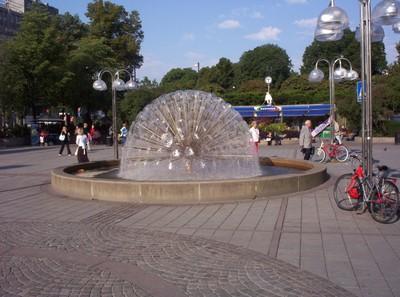 OSLO  NORWAY     Fountain.