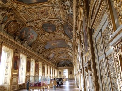 PARIS,  FRANCE.. --  Louvre  Museum.