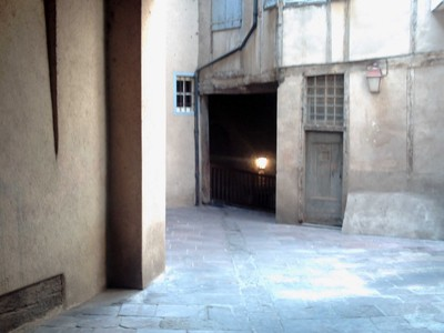 TOULOUSE  FRANCE.   Passageway  to  cloisters.