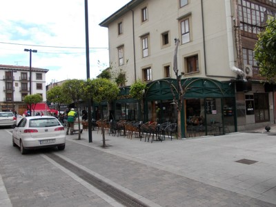 LLANES,  SPAIN.   --  Cafe  Bitacora in  Calle Barquera.