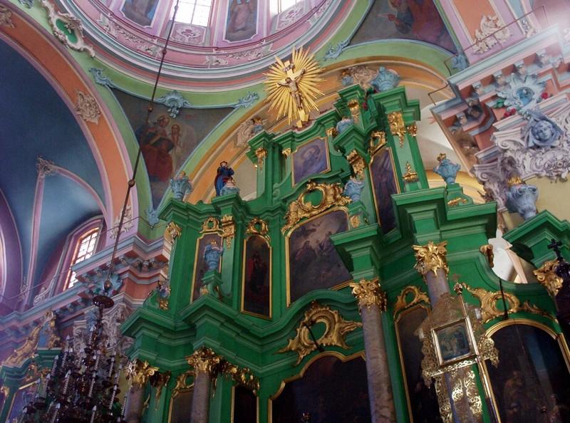 VILNIUS LITHUANIA..   Inside Russian Church.