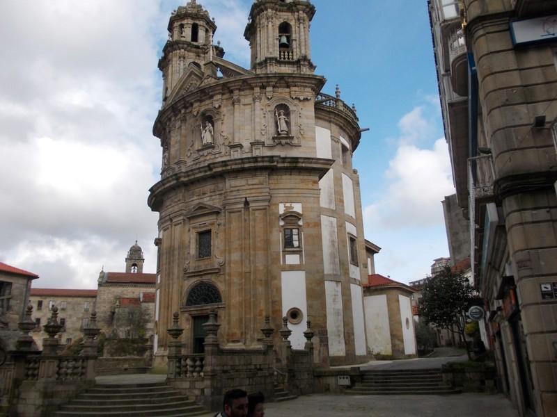 PONTEVEDRA  SPAIN.--  Church  of  the  Virgin. --- Unusual  shape.