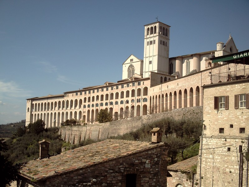 ASSISI  ITALY.    St.  Francis  Basilica,  completed 1253.AD