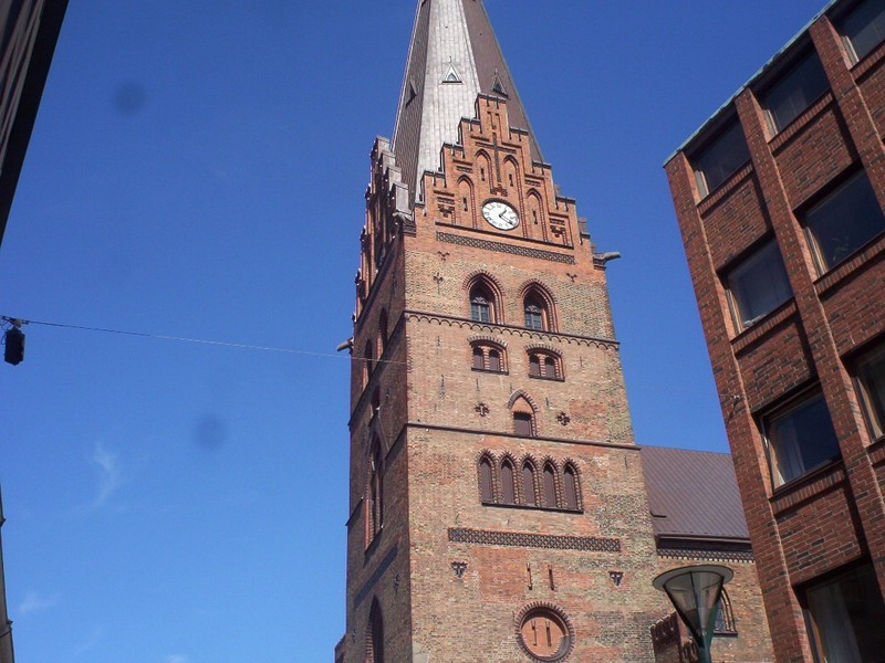 MALMO SWEDEN.  St Peters church   14 th. century.