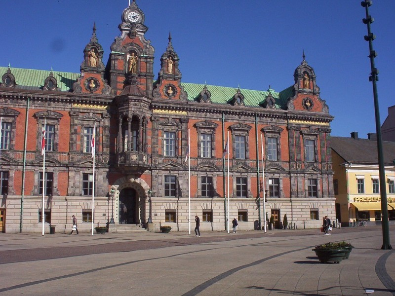 MALMO SWEDEN.  City Hall built 1546.