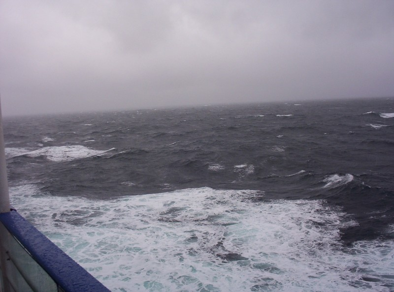 ON BOARD FERRY ,STAVANGER TO NEWCASTLE., ACROSS THE NORTH SEA.