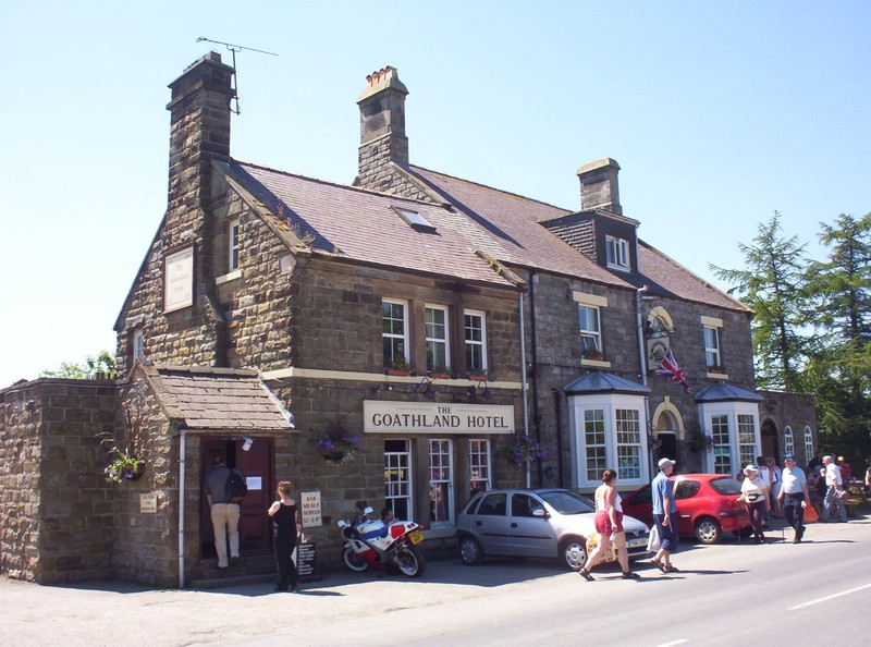 GOATHLAND  YORKSHIRE. -----Aidensfield  Arms in  TV  series.