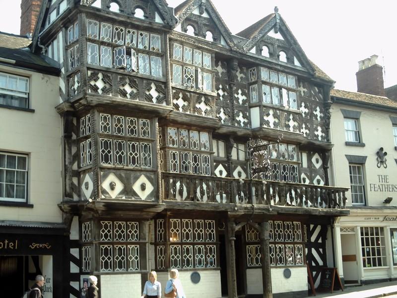 LUDLOW  ENGLAND,. --  Feathers  hotel.