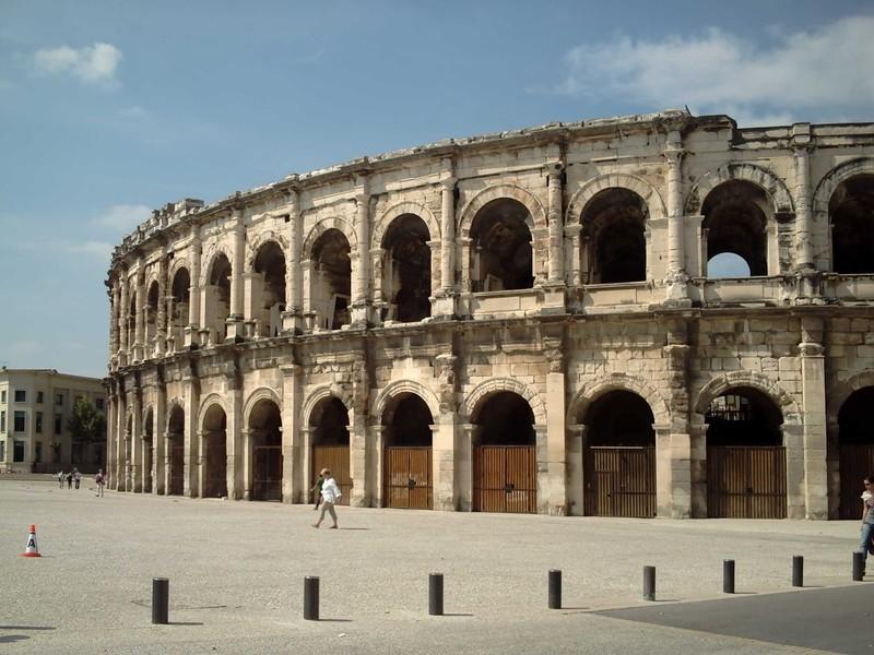NIMES  FRANCE      Roman  arena.