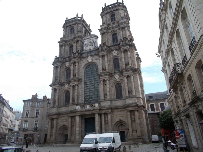 RENNES,  FRANCE   Cathedral.. Dedicated to St.  Peter.