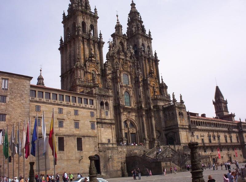 SPAIN  SANTIAGO DE COMPOSTELA   Cathedral  consencrated 1211.