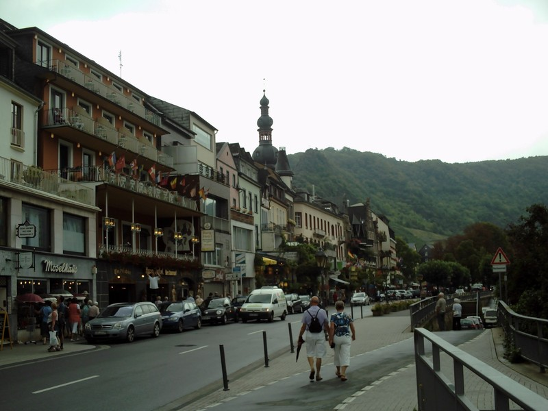 COCHEM  GERMANY.  Down by the river.