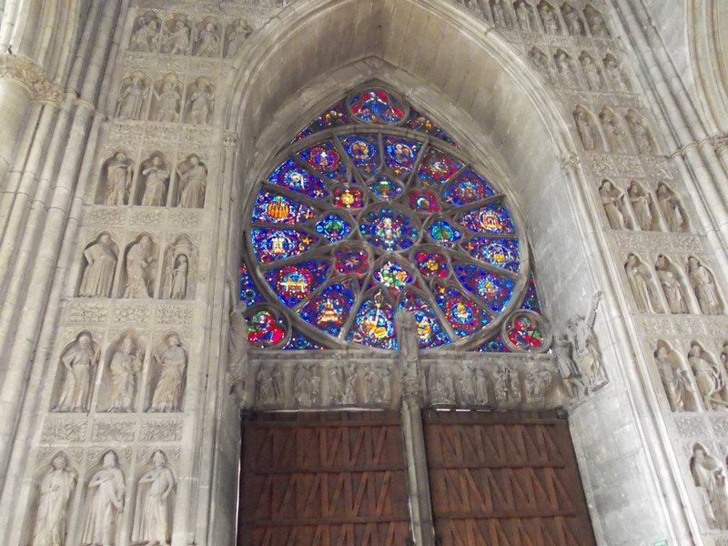 REIMS,  FRANCE...Cathedral.