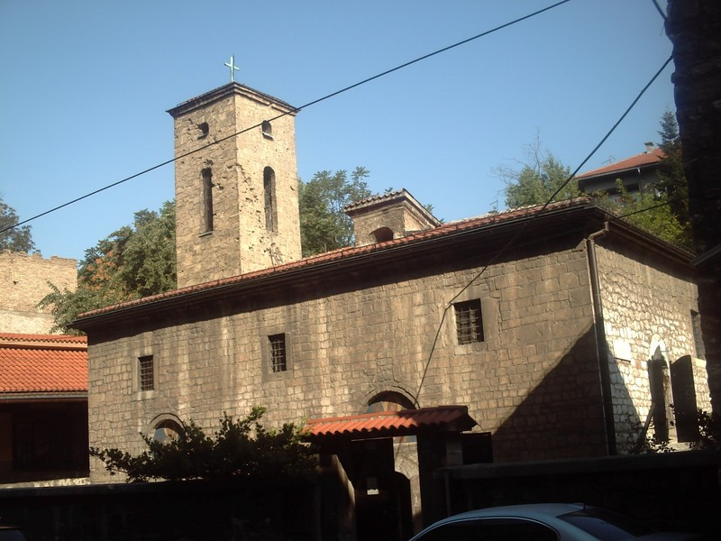 SARAJEVO,  Serbian Orthadox  church To  Archangel Michael  and  Gabriel.--  Open for  visits.