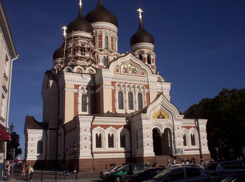 TALLINN ESTONIA   Alexander Nevsky Cathedral.