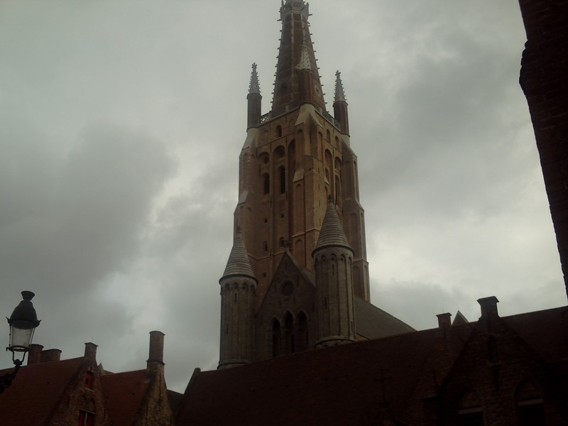 BRUGES  BELGUIM.    Church of our Lady.