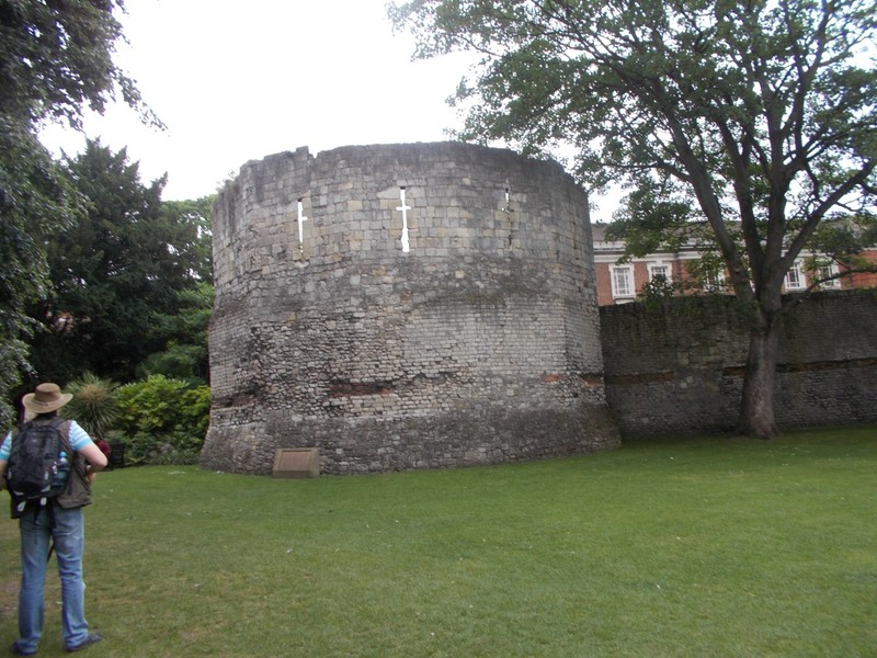 ROMAN TOWER, MUSEUM GARDENS YORK.