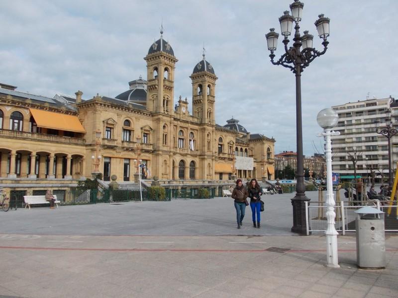 SAN SEBASTIAN  SPAIN.     City Hall.