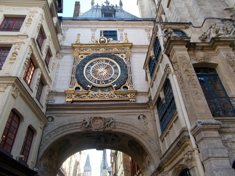 ROUEN ,  FRANCE.   Clock works made in 1389.