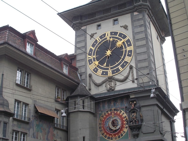 BERN, Zytglogge, or Clock Tower, there are tours ,which climbs 130 steps.