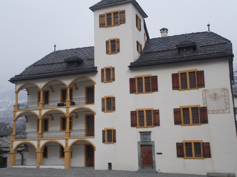 VISP  SWITZERLAND.   Town Hall.