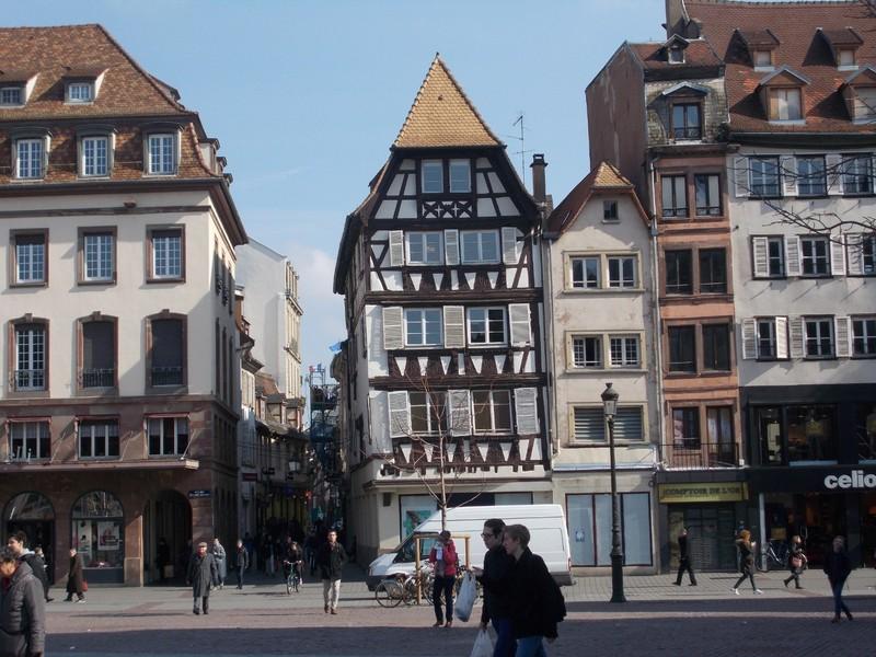 STRASBOURG,  FRANCE.   Place Kleber.