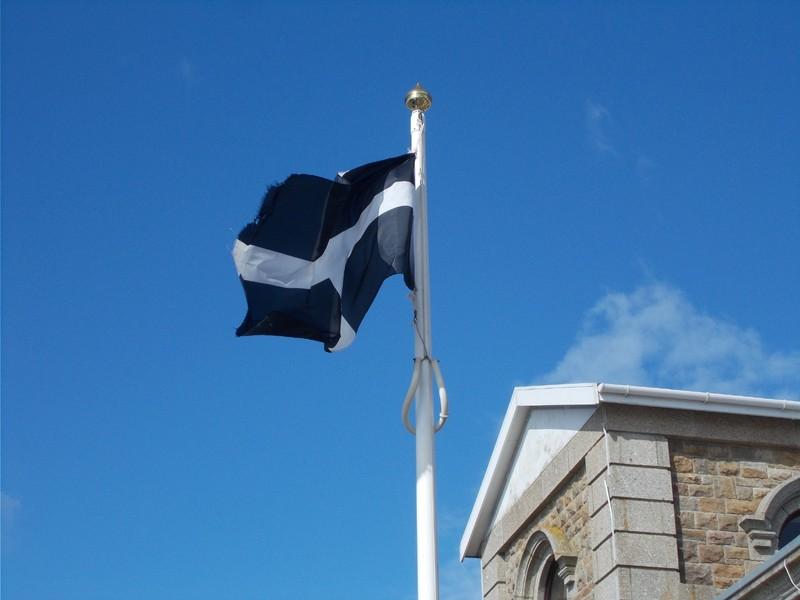CORNISH FLAG.