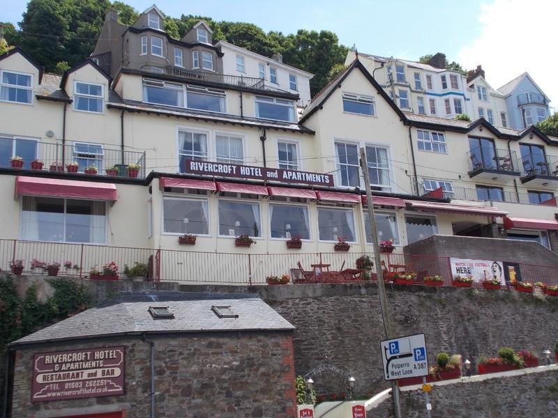 LOOE CORNWALL.Rivercroft hotel.