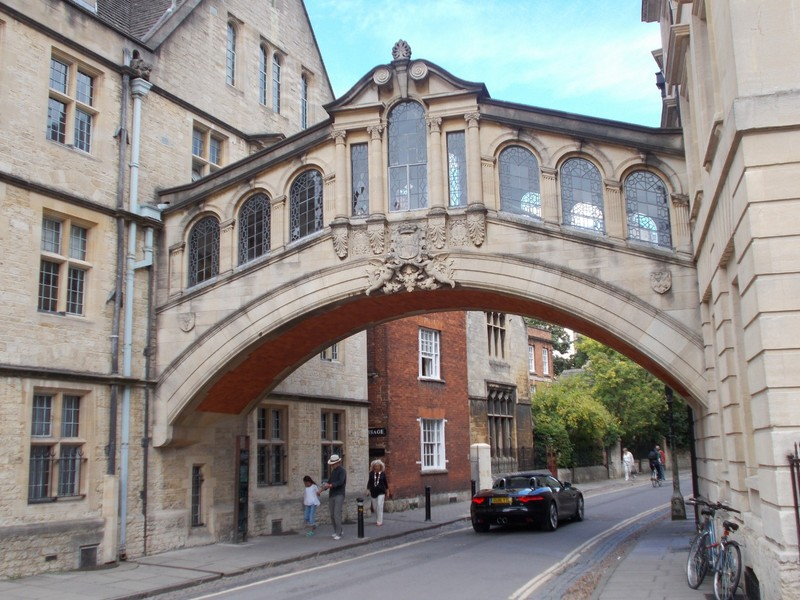 "OXFORD  UK  "" Bridge of Sighs"" is the Hertford Bridge.,joins the two parts of Hertford College."