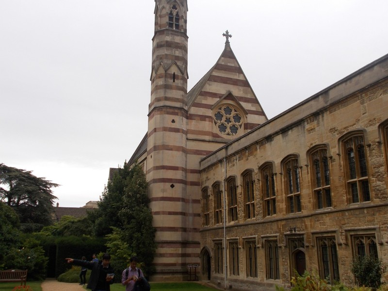 OXFORD  UK.   William Butterfield Chapel Balliol College.