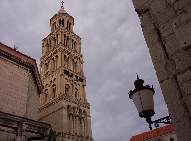 SPLIT CROATIA.    Bell Tower, there is access to top.