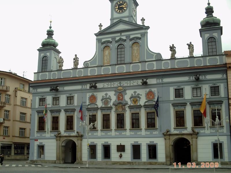 CZECH,  CESKY BUDEJOVICE,   Town Hall, in Ottokar Square.